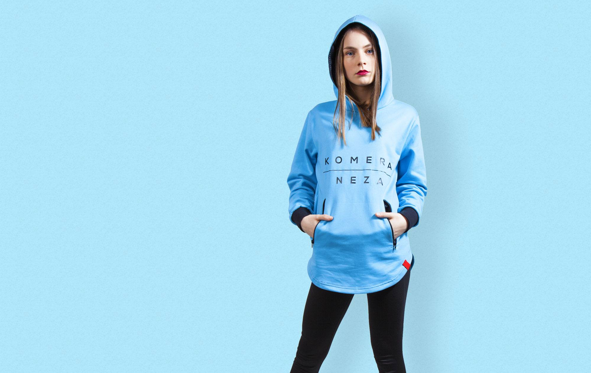woman in blue hoodie from KOMERA NEZA danceschool